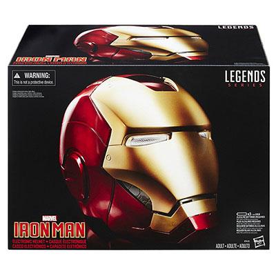 unboxing casco iron man
