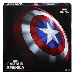 review escudo capitan america