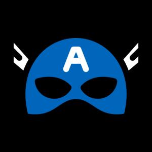 logo capitan america