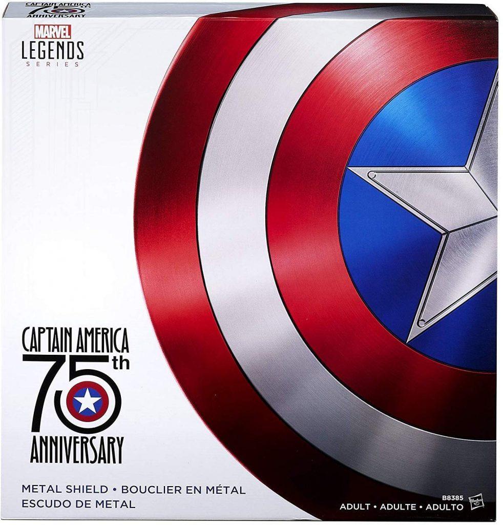 escudo del capitan america 75 aniversario
