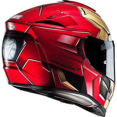 Casco de Moto de Iron Man