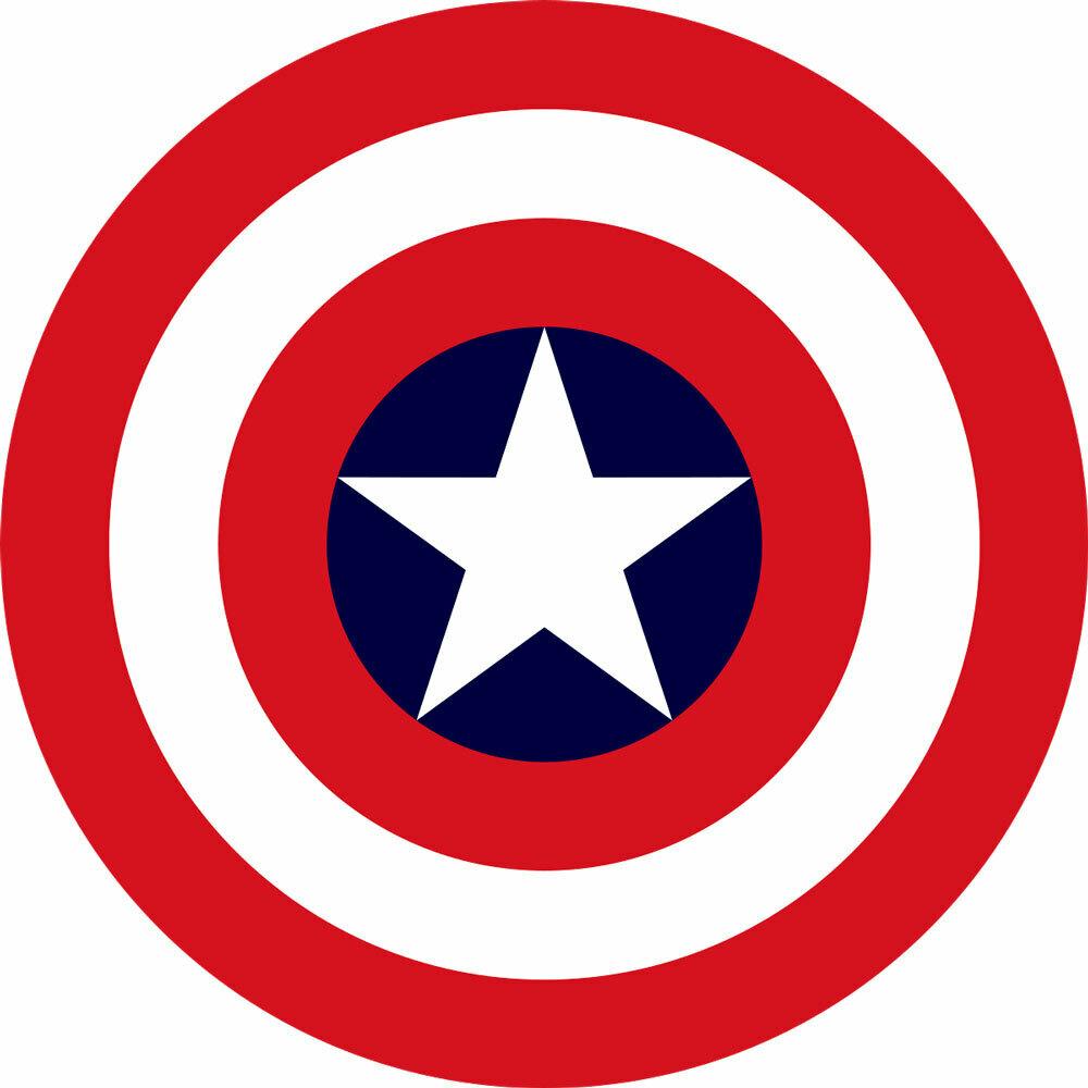logo del escudo del capitán américa