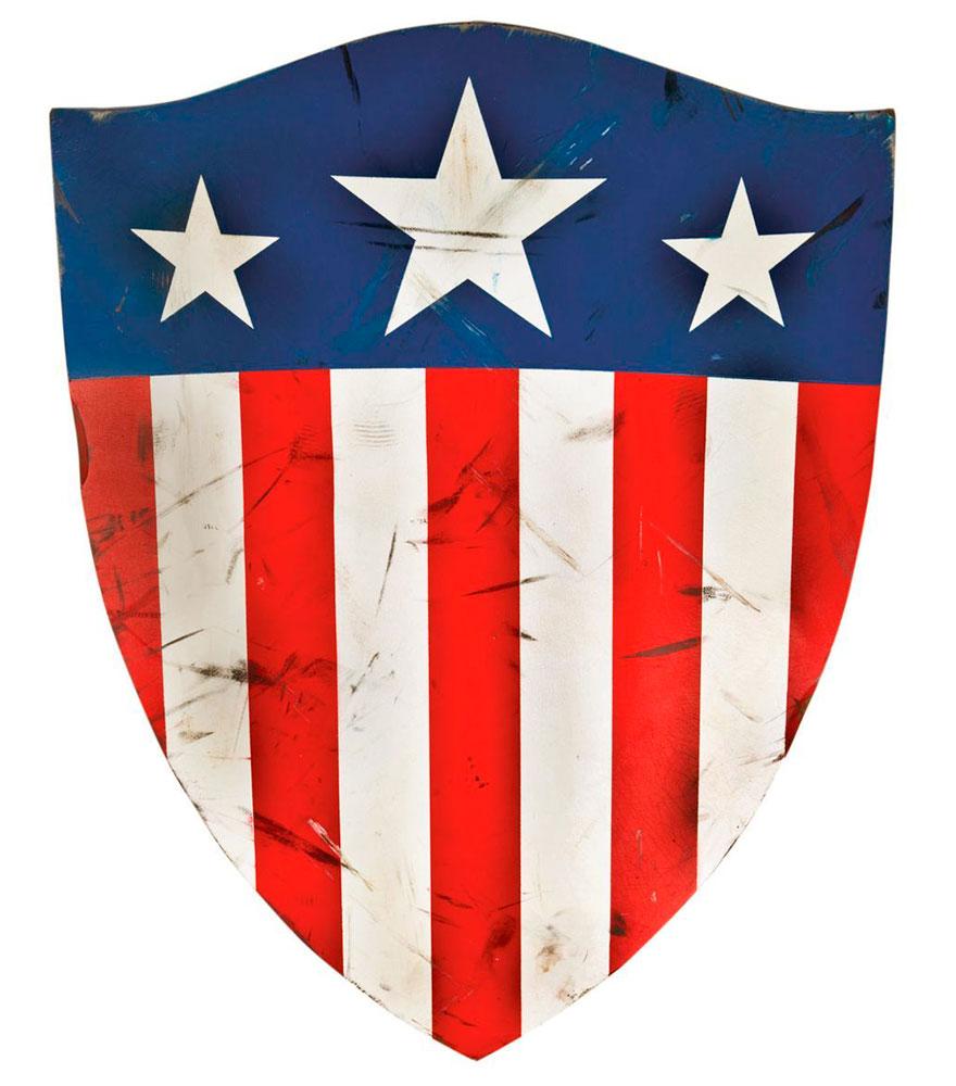 imagen del primer escudo del capitan america