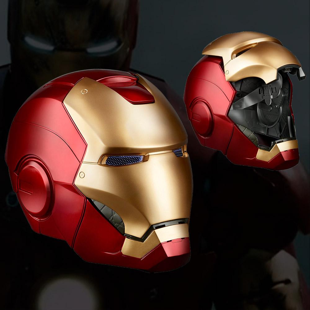 réplica del casco de iron man